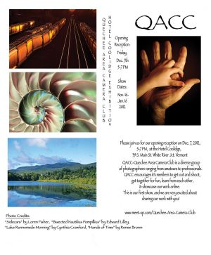 QACC photo show poster